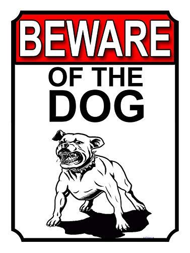 犬の用心 金属板ブリキ看板注意サイン情報サイン金属安全サイン警告サイン表示パネル