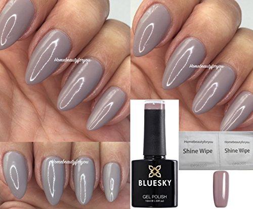 Bluesky 63921 Taupe Beige Grey Nail Gel Polish Uv Led Soak Off Gel