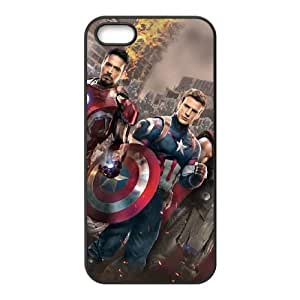 iPhone 5 5s Cell Phone Case Black Captain America Pzaxe