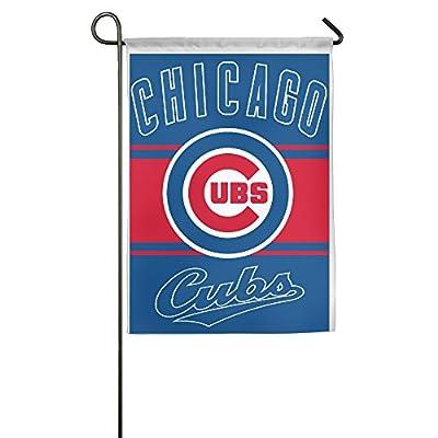 Cubs Baseball Team House Flags Garden Flag (2 Size)