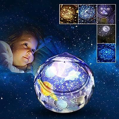 Joy-Jam Regalos para Niños 3-10 Años Proyector Bebe Luz de Noche ...