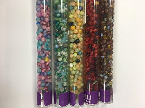 Bead Your Dreams with Czech 4 mm round Druks beads Combinations ()