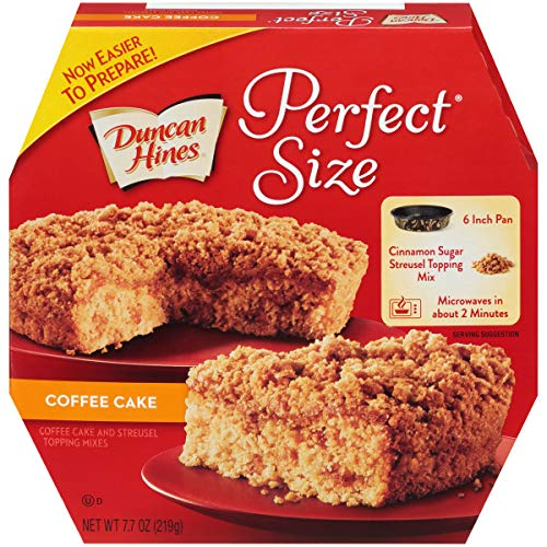 (Duncan Hines Perfect Size, Coffee Cake & Streusel Mix, 7.7 Ounce)