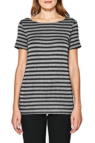 ESPRIT, Camiseta para Mujer Multicolor (Anthracite 010)