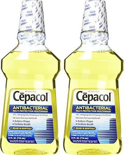 Cepacol Antibacterial Mouthwash - 24 oz - 2 pk