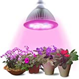 Led Grow light Bulb Lumin Tekco led High Efficient plant light 24W, plant grow light E27 Full Spectrum, leaf and Flowering indoor plant light for Hydropoics Garden Greenhouse Aquatic