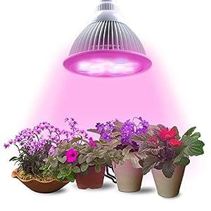 lampe de plante lumin tekco lampe horticole lampe de croissance lampe de culture 12 leds. Black Bedroom Furniture Sets. Home Design Ideas