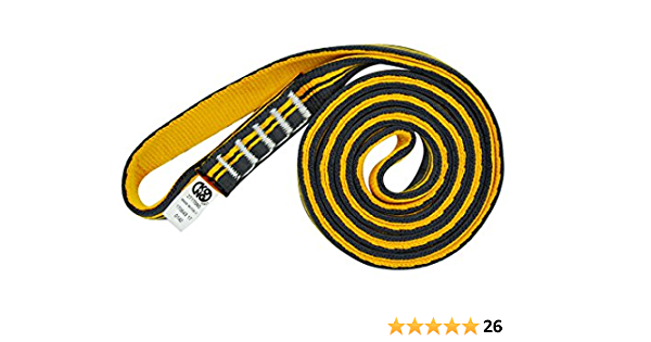 Kong Aro Sling tubular, naranja / negro, 180 cm: Amazon.es ...