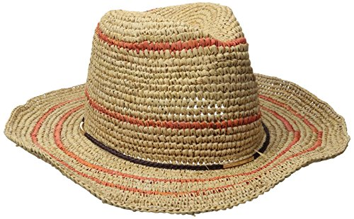Callanan Women's Striped Raffia Western Hat