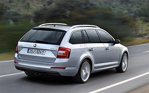 PSSC Pre Cut Rear Car Window Films for Skoda Fabia Wagon 2007 to 2014 20/% Dark Tint