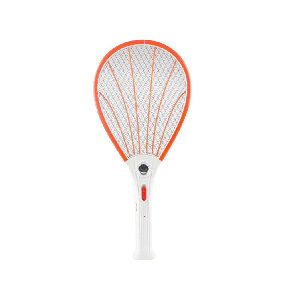 Fly Swatter-Rechargeable Bug Zapper Racket and Mosquito Insects Killer LED Light, Unique Safe-to-Touch 3-layers Mesh that's Safe to Touch Alapaste