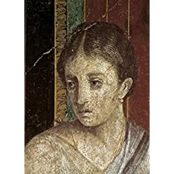 Wall Painting (Detail) c 60-50 BC Artist Unknown Fresco Roman Villa of the Mysteries Pompeii Poster Print (24 x 36)
