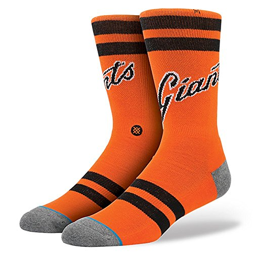 Stance SF Giants Candlestick Socks (Large 9-12)