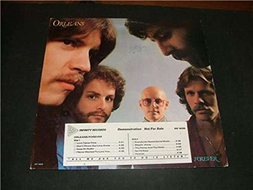 Orleans Forever Album Promo 1979- Infinity records Rock INF 9006