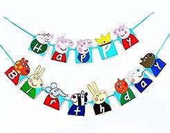 Birthday Banner  Peppa Pig Birthday Deco...