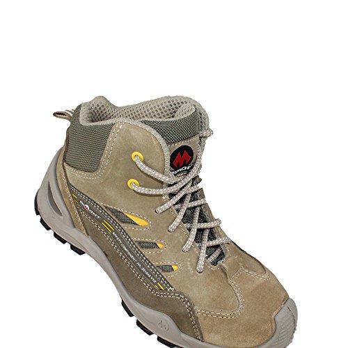 Aimont Sequor Seguridad S1p Alta Zapatos Src Para Beige Caminar De Trabajo q6FAwFan
