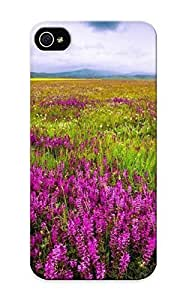 7eipod touch4e8c53224 Purple Flowers On The Field Compatible With Iphone 5C Protective Case