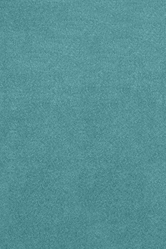 6' Polypropylene Area Rug (Bright House Solid Color Teal 4'X6' - Area Rug)