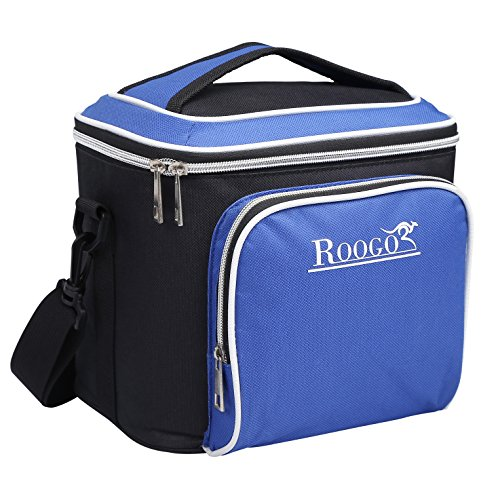 Roogo Adult Lunch Box/ Insulated Lunch Bag/ Soft Cooler Bag