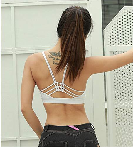 De Sujetador Para A Back Bianjesus Deportivo Top Criss Mujer Golpes Gimnasio Black Entrenamiento Cross Crop Yoga Prueba q66Ed7w