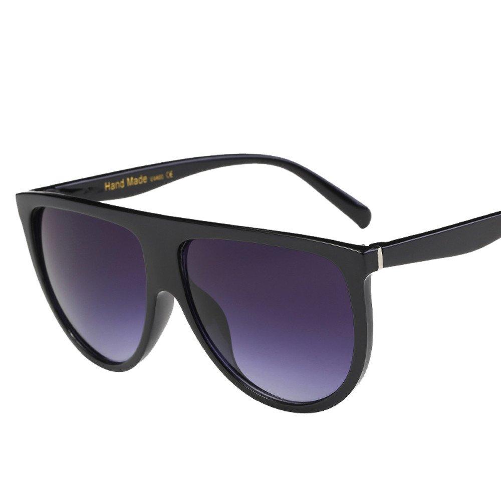 a71182e37801 LIN Ray Ban Sonnenbrille Damen Herren Mode Unisex Vintage Shaded Objektiv  dünne Brille Mode