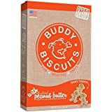 Cloud Star Itty Bitty Buddy Biscuits Dog Treats, Peanut Butter, 8-Ounce Boxes (Pack of 6)