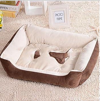 Mejor estera de cálido mascota perro gato camada otoño/invierno , brown , xl: Amazon.es: Deportes y aire libre