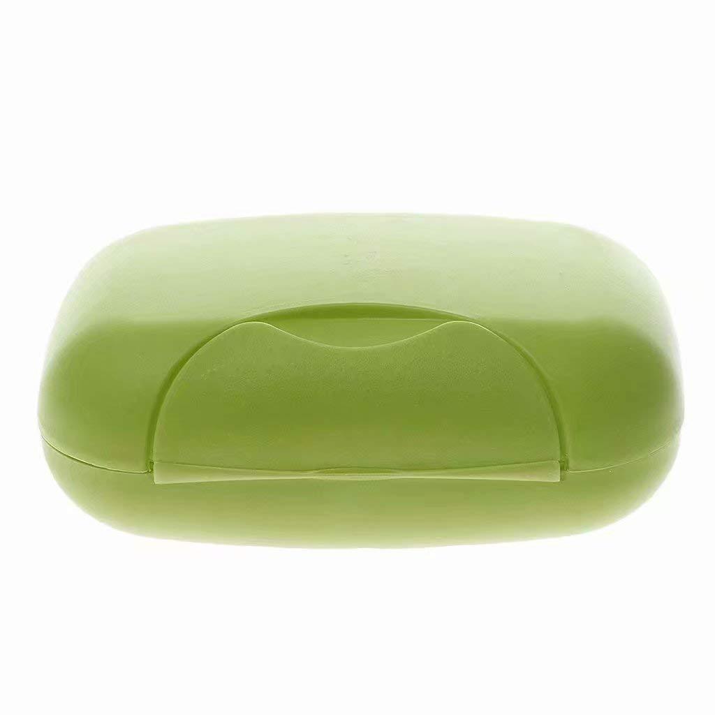 1 bo/îte /à savon en plastique Color.5 No Soap /À utiliser pour les voyages ou /à domicile