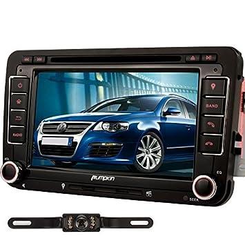 Pumpkin Car DVD Player for VW Series/Seat Series/Skoda Series Double Din In