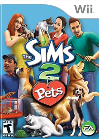 The Sims 2 Pets Nintendo Wii Artist Not Provided Video Games