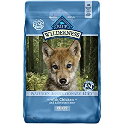 BLUE Wilderness Puppy Grain-Free Chicken Dry Dog Food 11-lb