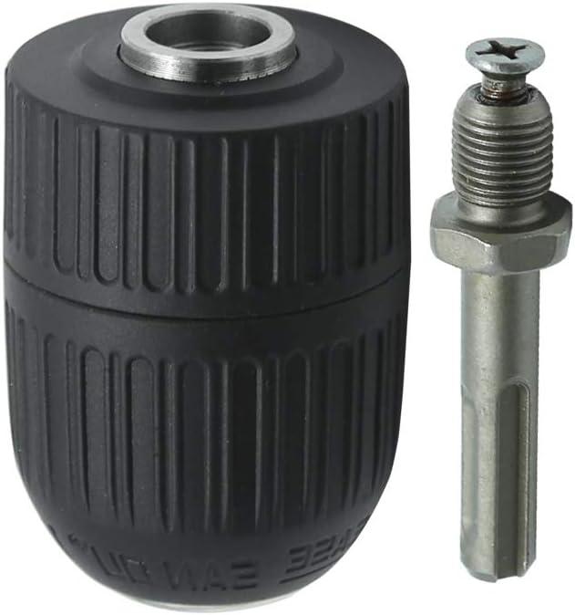 Mandrin de perceuse sans cl/é /à lib/ération rapide avec adaptateur SDS 1,27 cm 2 mm /– 13 mm
