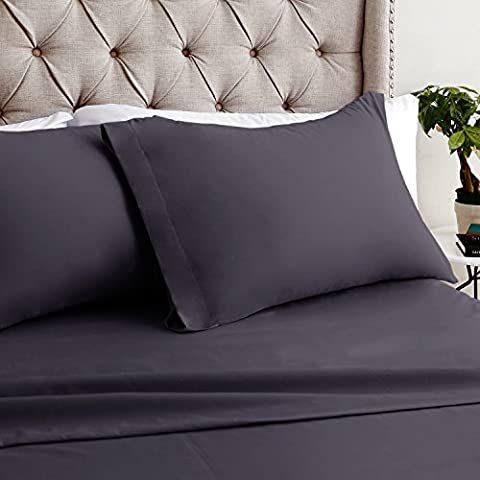 Bamboo King Sheets ‐ 4pc set- Hotel Quality – Soft, Luxurious, Eco-Friendly Wrinkle Resistant ‐ Luxor Linens - Bella - King- (Wake Up Frankie)