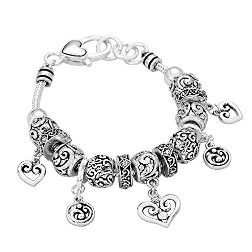 True Love Heart Charm - 3