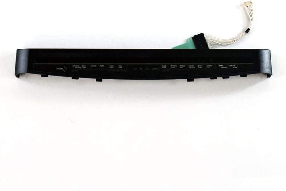 Whirlpool W10811164 Dishwasher Control Panel Genuine Original Equipment Manufacturer (OEM) Part