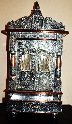 "Hindu Temple for Daily Rituals 28"" Shrine Altar Mandir Puja Aarti Prayer (12 * 9 * 28)"