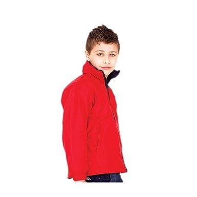 851e68043 Uneek UC606 Polyester Unisex-Children Reversible Fleece Jacket ...