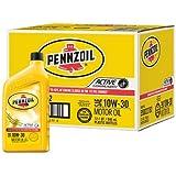 Pennzoil 550022792-12PK 10W-30 Motor Oil - 1 Quart (Pack of 12)