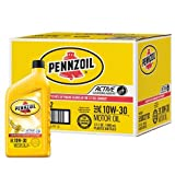 Pennzoil 550022792-12PK 10W-30 Motor Oil - 1 Quart (Pack of 12)