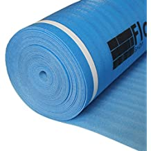 Laminate Flooring UNDERLAYMENT with Vapor Barrier 3in1 Foam 3mm Thick 200 sq.ft