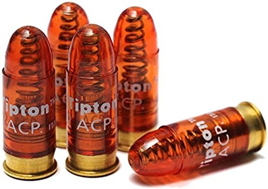 Amazon.com : Tipton Pistol Snap Caps .32 ACP with False Primer and Reusable Construction for Dry-Firing, Practice and Safe Firearm Storage, 5 Pack : Hunting And Shooting Equipment : Sports & Outdoors