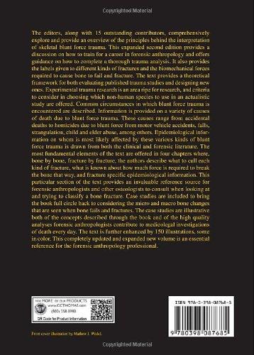 Broken Bones: Anthropological Analysis of Blunt Force Trauma