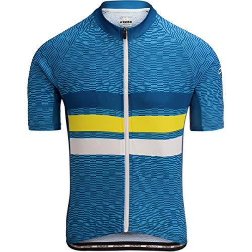 Capo Short Sleeve Jersey - Capo Corsa Limited Edition Jersey - Men's Blue, XL