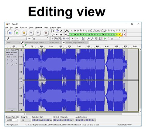 an analysis of audio recording and editing software audacity Check out these best audio recording software undoubtedly one of the most popular and well known audio editing software out there, audacity includes a truckload of impressive audiodope features full audio waveform analysis, and editing all or some parts of the audio stream is an.