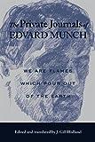 The Private Journals of Edvard Munch, Edvard Munch, 0299198146