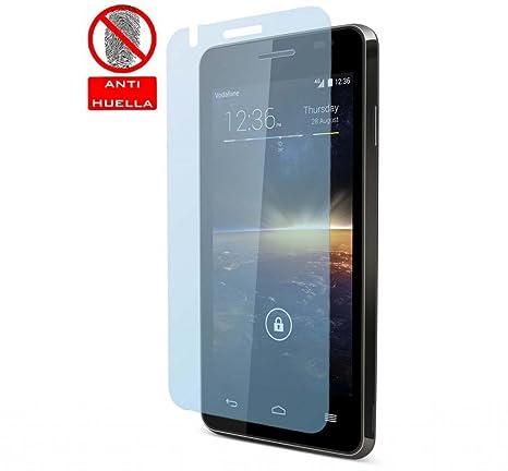 Tumundosmartphone 3x PROTECTOR PANTALLA MATE ANTIHUELLAS (ANTI-GLARE) para VODAFONE SMART 4 TURBO