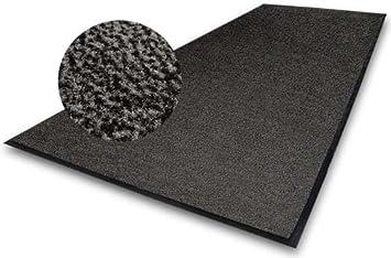 Grey Commercial Pvc Rubber Anti Non Slip Entrance Shop Office Garage Door Floor Mat Hardwearing Commercial Industry Mats 5 Colours 5 Sizes
