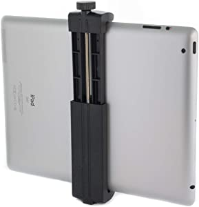Square Jellyfish Tablet Twist Tripod Mount | iPad Holder Tripod Mount | Use Your Tripod with This Mount to Hold All Tablets Up to 10 inches (Mount only)
