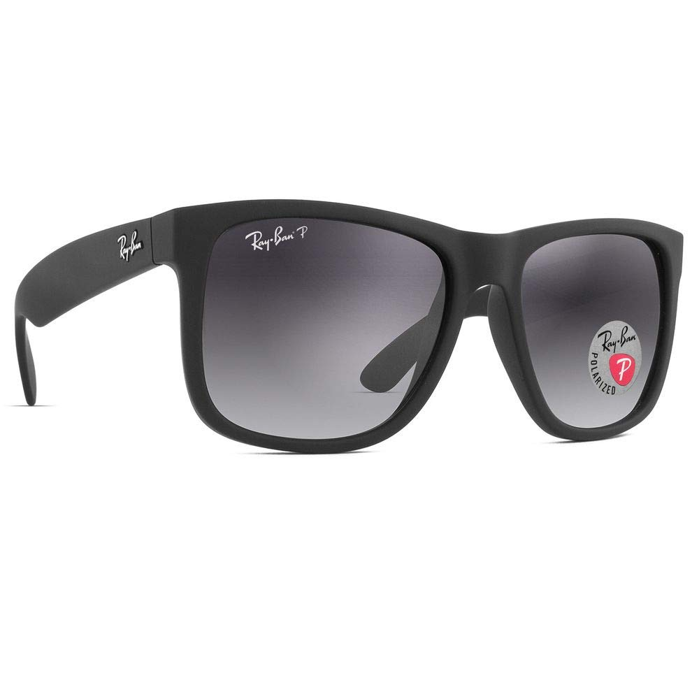Óculos de Sol Ray Ban Justin Polarizado RB4165L 622 T3-57  Amazon.com.br   Amazon Moda d65213eac4