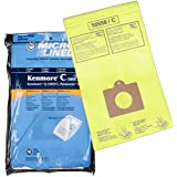 Micro-Lined Kenmore C 50403 5055 50558 / Panasonic C-5 Disposable Canister Vacuum Cleaner Bag (Pack of 10)